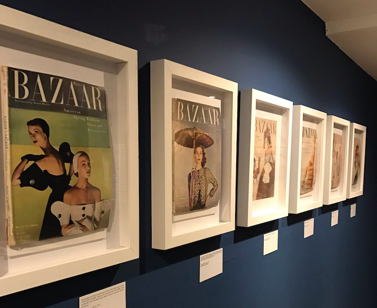 Vintage Harper's Bazaar covers from the 1940's/50's